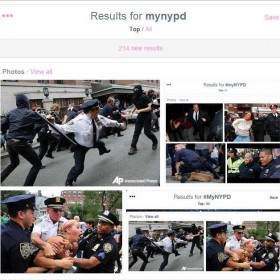 NYPD decided to ask people to tweet photos of their friendly local constabularly
