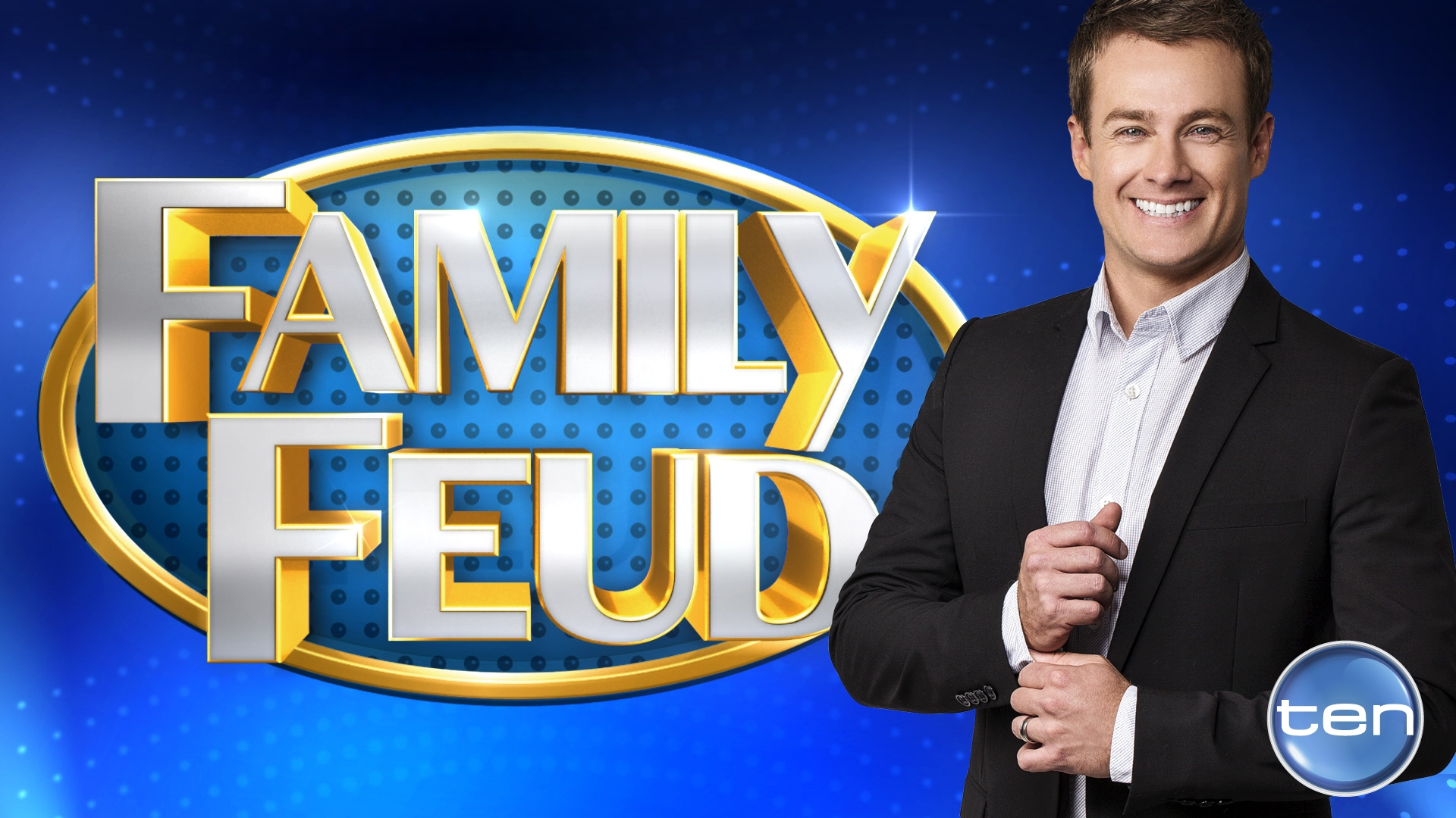 who has hosted family feud