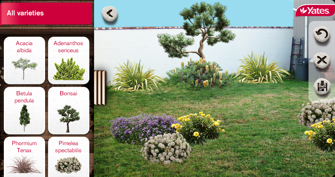 New app puts gardening secrets in your pocket b t for Garden design yates
