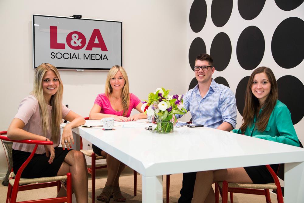 Left to right: Elena Fullerton, Gina Lednyak, Dave Bonouvrie, Olivia O'Connor.