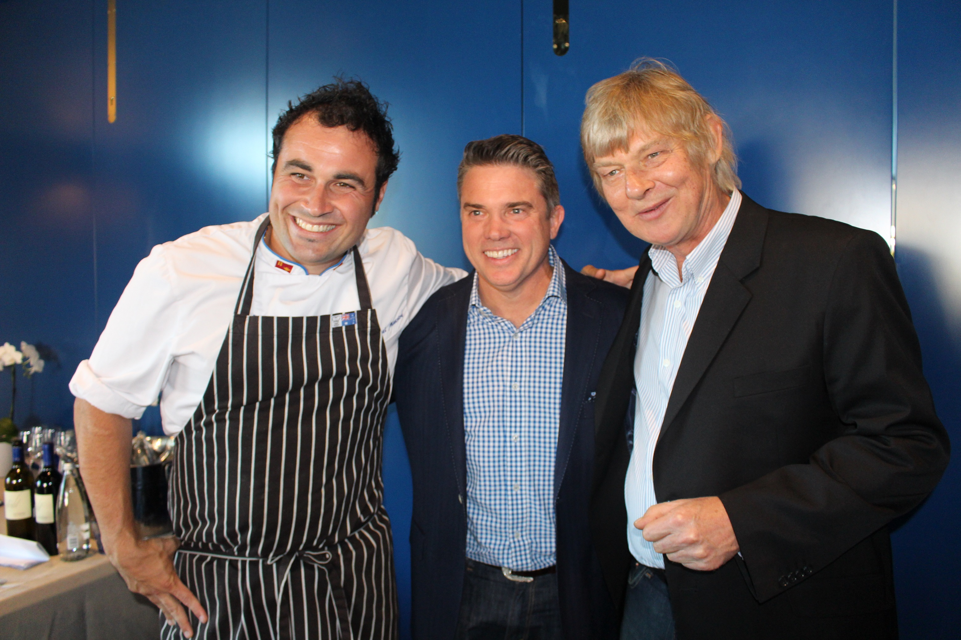 Miguel Maestre,  Matthew Cameron-Smith and Richard Mercer