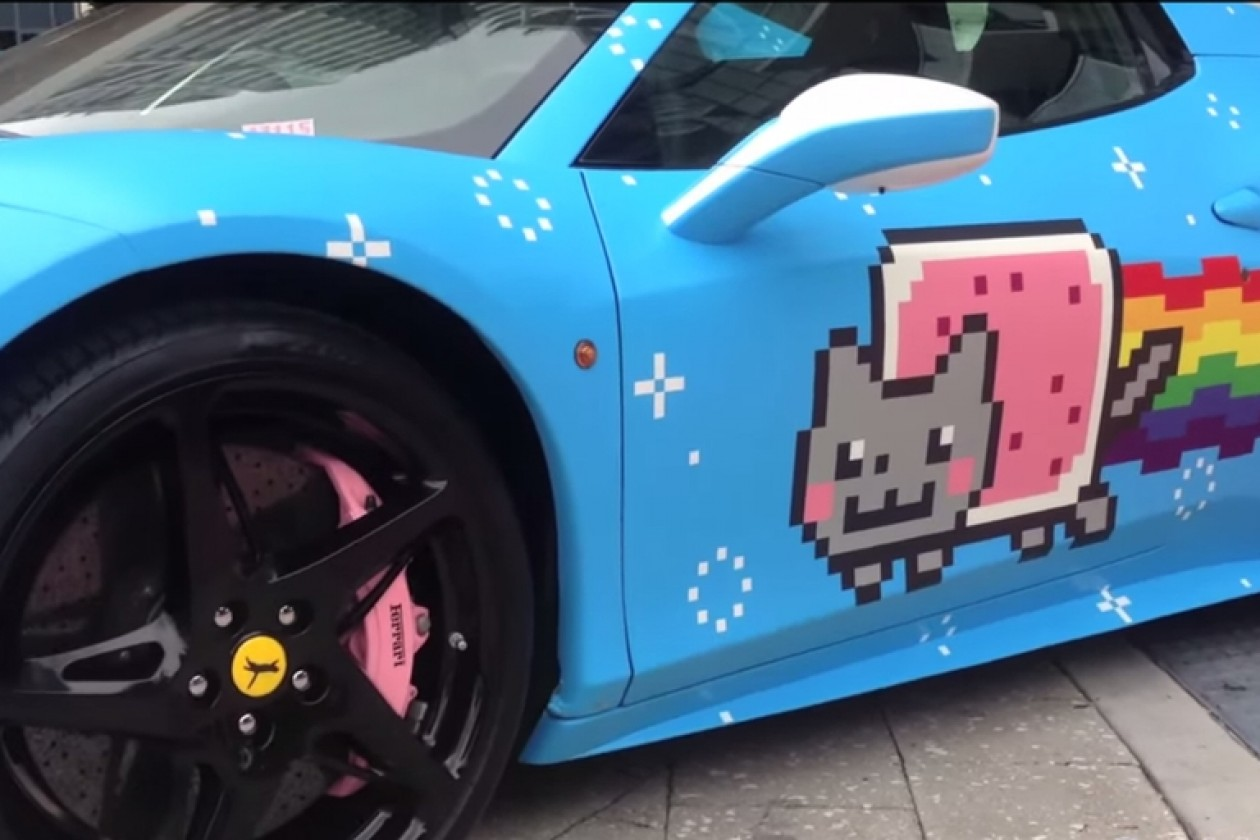 Deadmau5 Purrari Ferrari Ferrari Hates Deadmau5′s Nyan