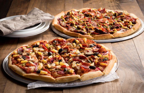 Campaign Eagle Boys Launches Its Largest Pizza Bt
