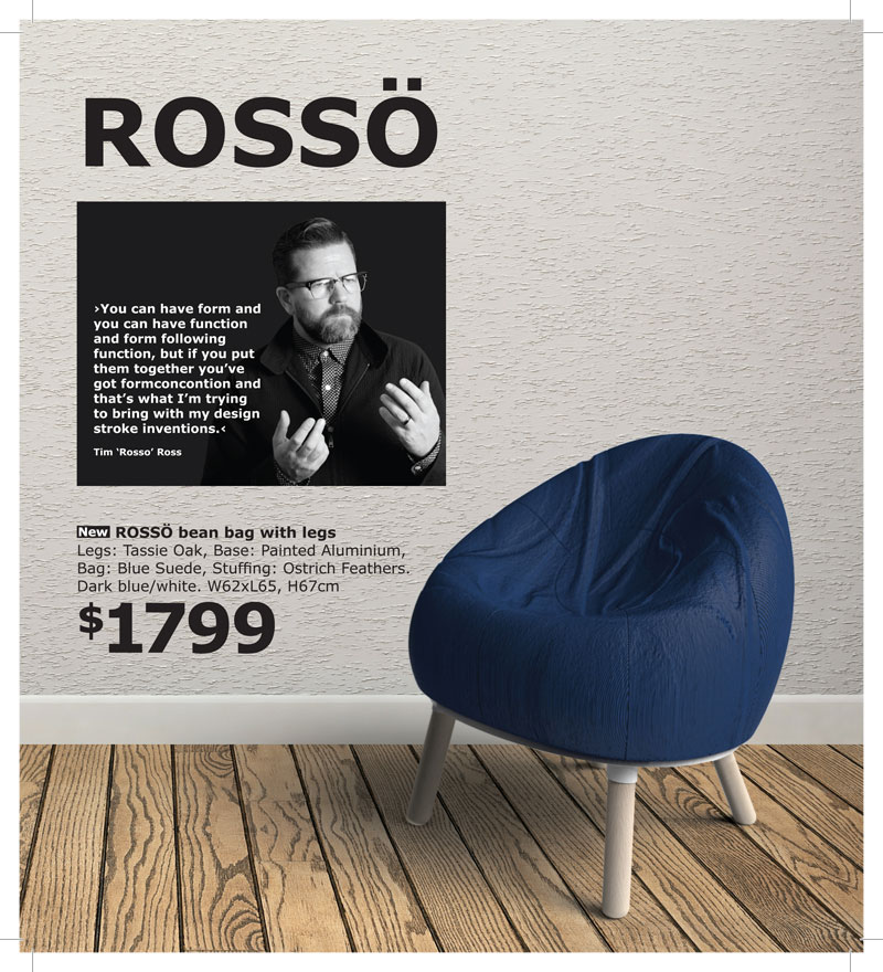 The Rosso chair