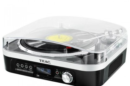 Teac has its own turntable range to keep you cracking out the vinyl and hitting your retro record collection. Image via TEAC site.