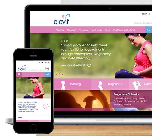 Elevit screen shot