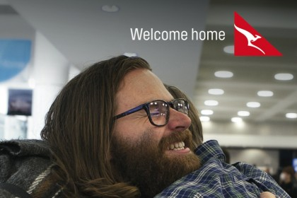 Qantas Santiago