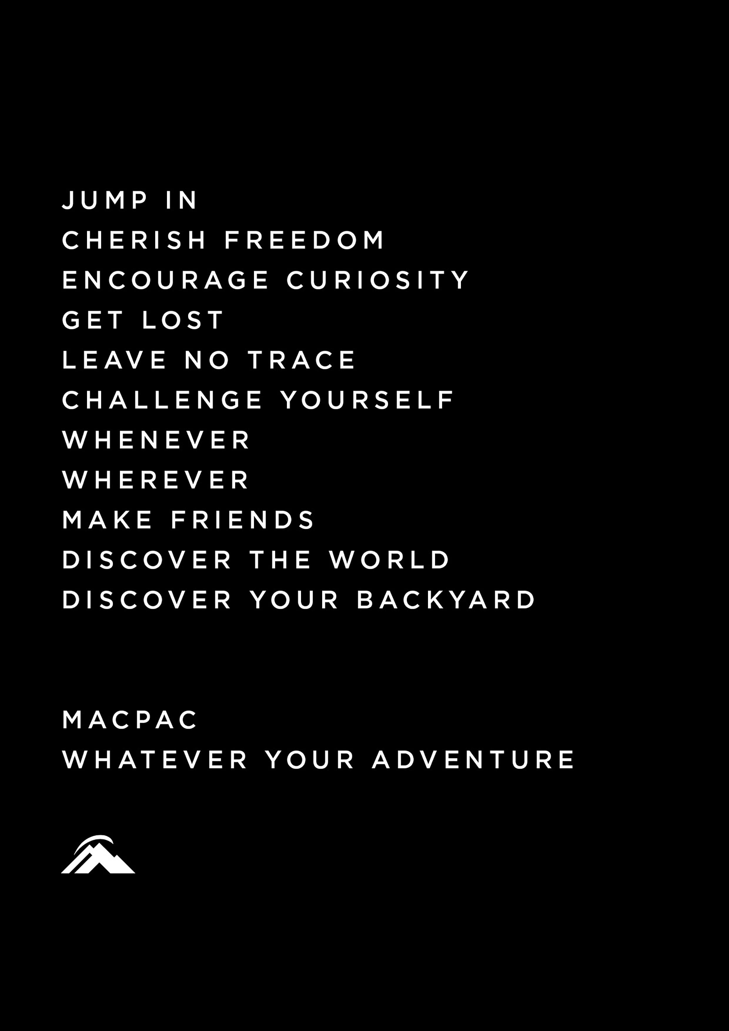 MACPAC STORY