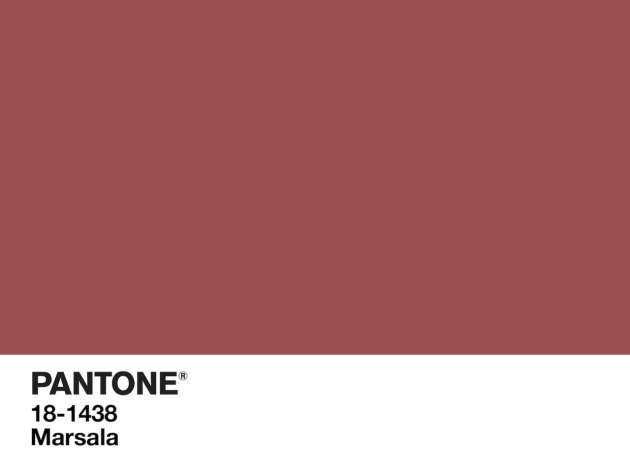 marsala color of year