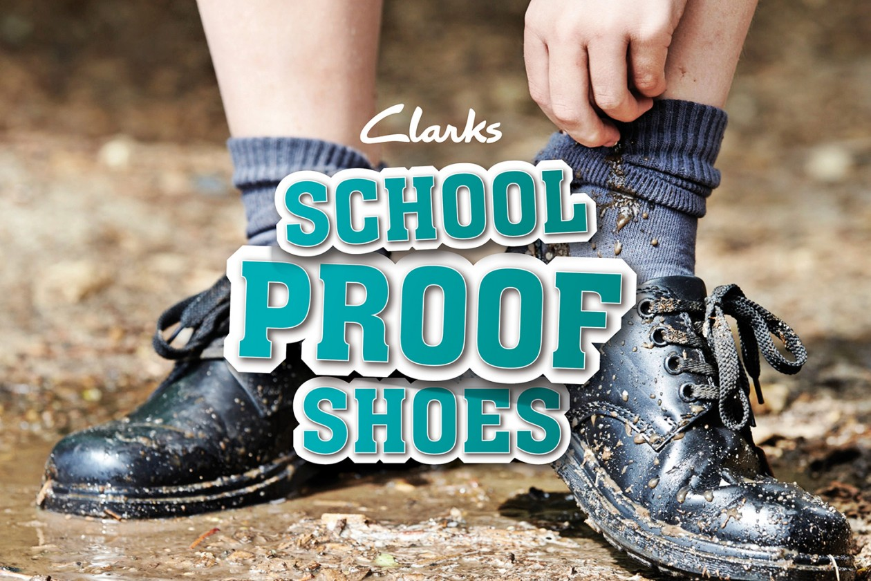 Campaign Mustard Launches School Proof Shoes For Clarks
