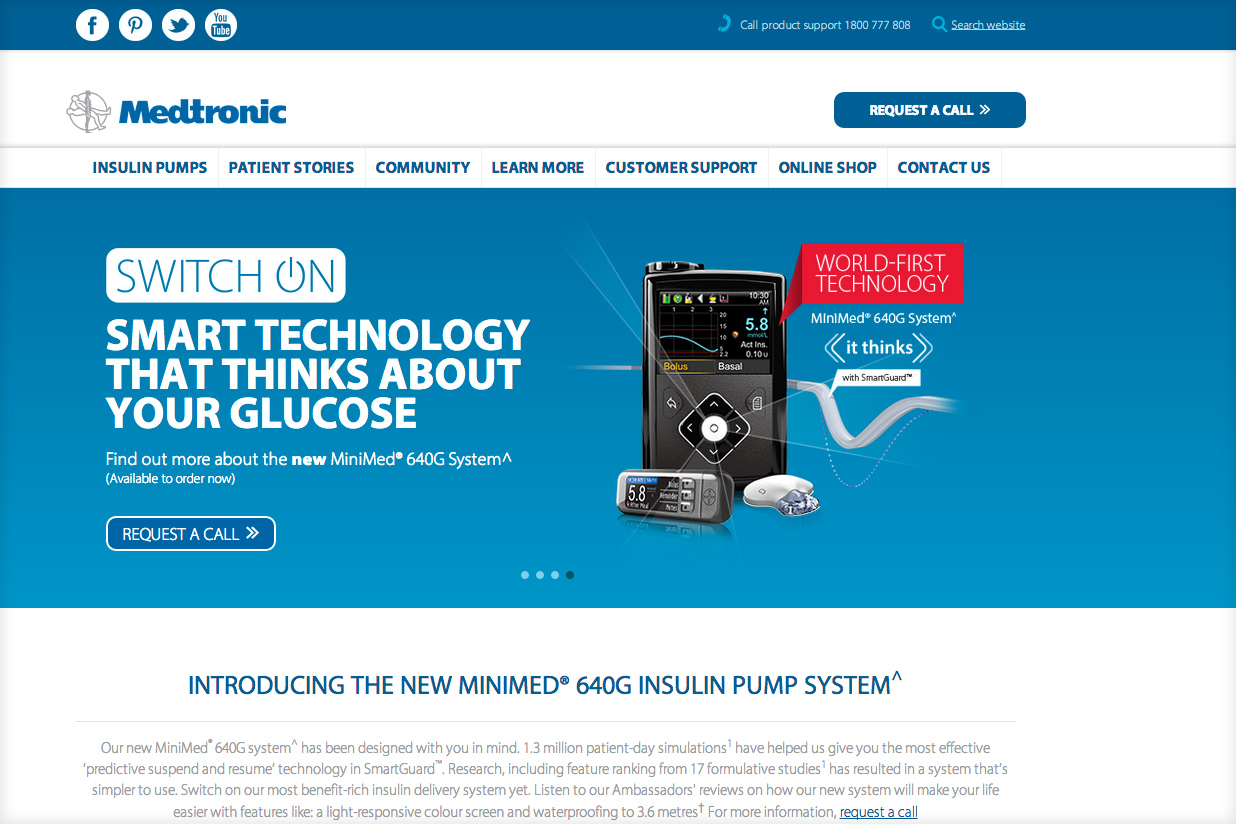 apparent-medtronic_website