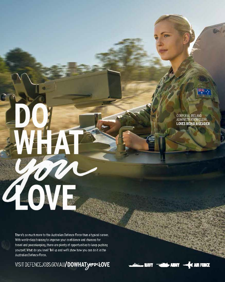 australian defence force recruiting gears up to pitch