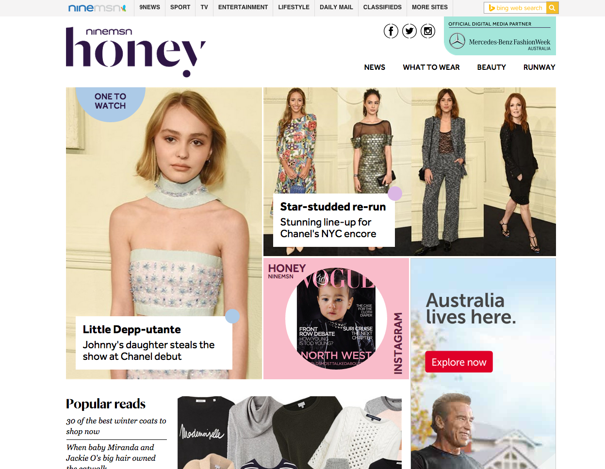ninemsn honey