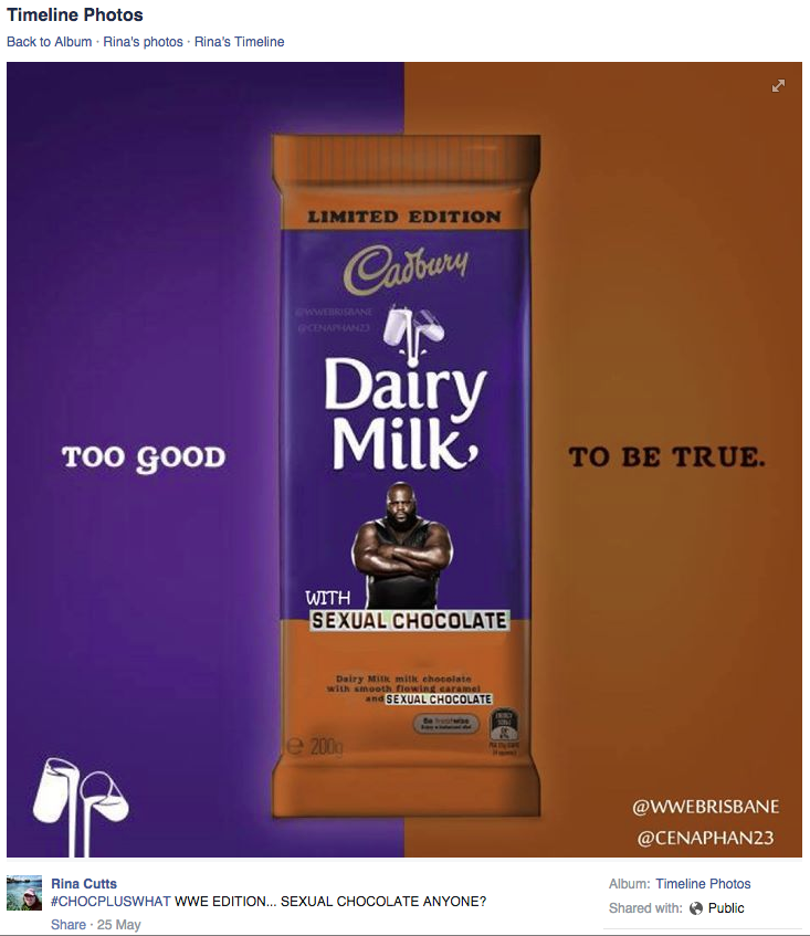 cadbury sexual chocolate