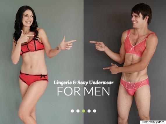 Lingerie For Men  Sensual Eroticism Or Creepy Perversion  - B T 9d2710ecd596
