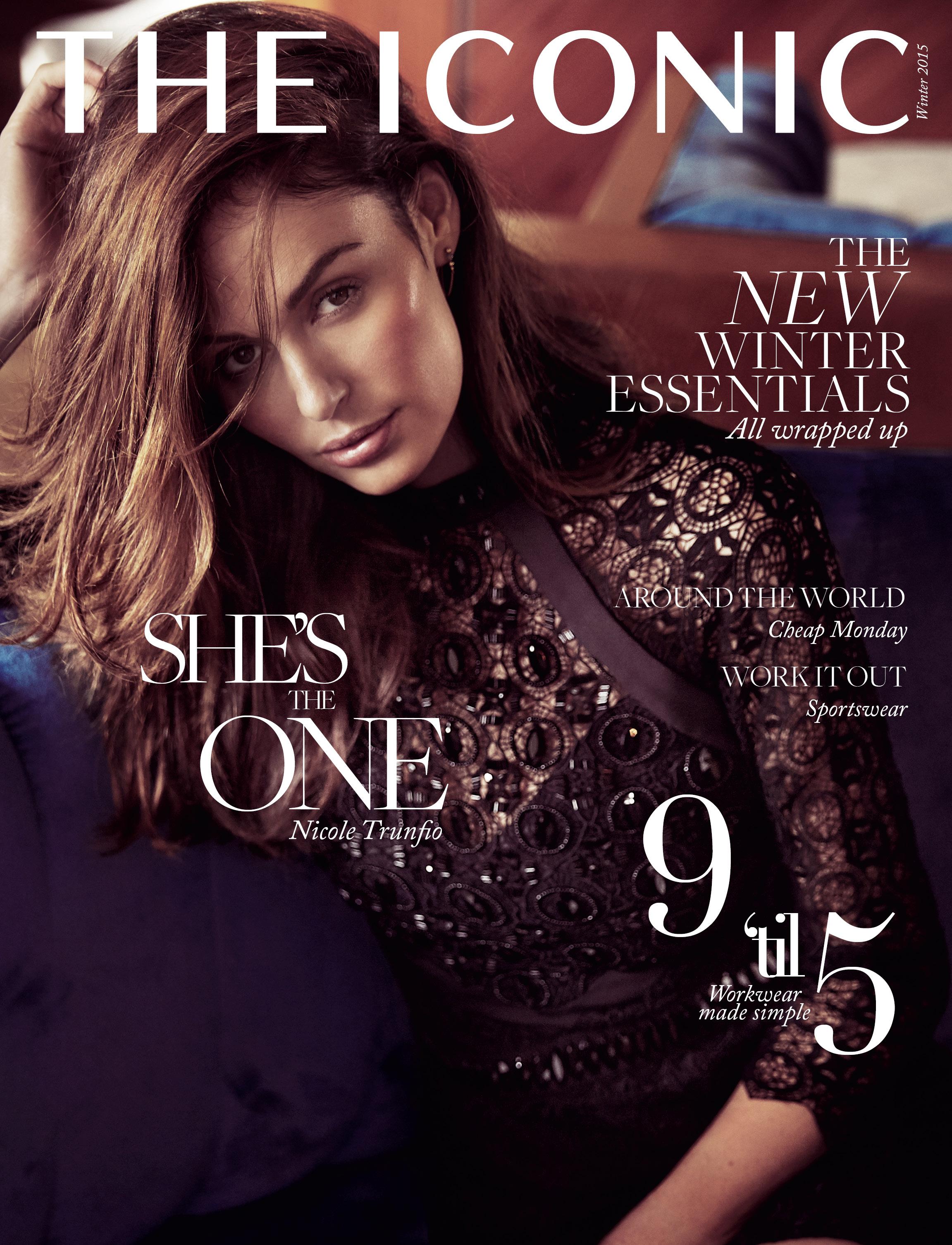 Online Fashion Retailer THE ICONIC Launches Magazine Featuring Supermodel  Nicole Trunfio - B&T