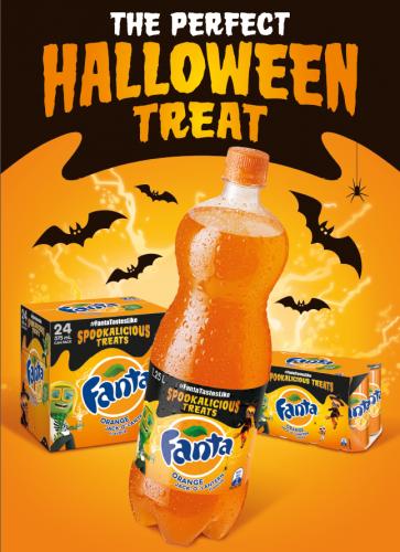 Fanta Halloween pic