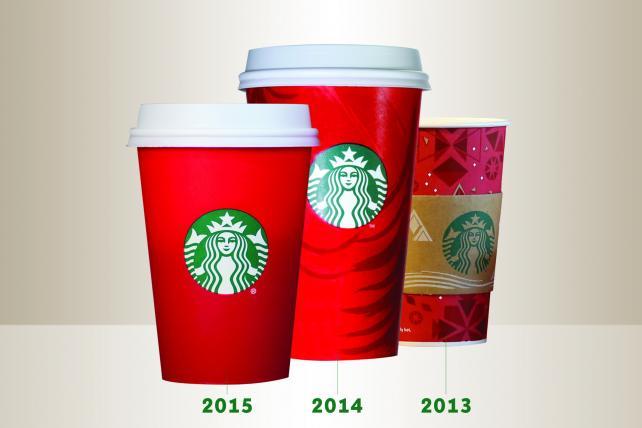 Starbucks Christmas Coffee Mugs.Starbucks Apparently Now Satanic Worshipper And Christmas