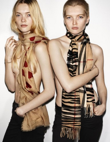 The Bell sisters and their scarves