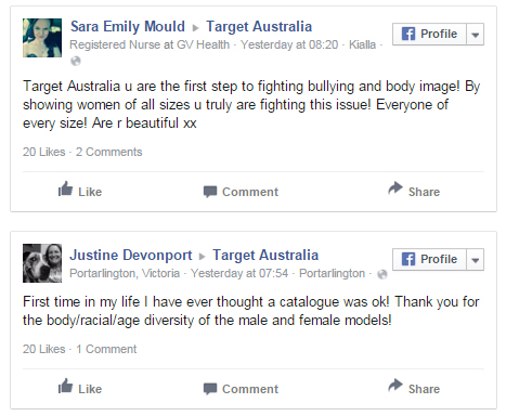 Public Praises Target For Featuring Real World Models In Christmas ...