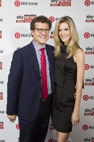 Carson Scott, Sky News Chief Business Correspondent; Amy Greenbank, Sky News Weather Reporter