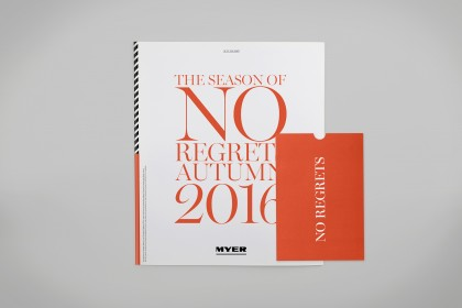 Myer Catalogue And Receipt Holder