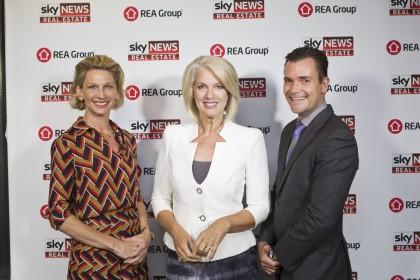 Cherie Clarke-Humel, Clarke & Humel; Helen Dalley, Sky News Anchor; Michael Clarke, Clarke & Humel