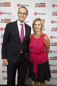 James Daggar-Nickson, Sky News Business Channel Manager and Business Editor; Janine Perrett, Sky News Anchor