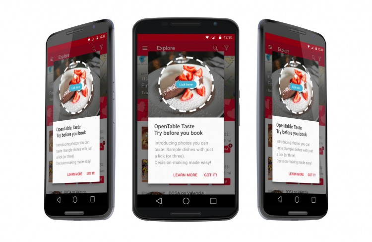 OpenTable Taste Technology - Android
