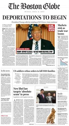 Donald trump_Boston Globe