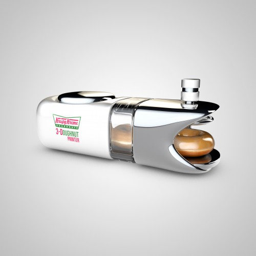 Krispy Kreme 3Doughnut Printer