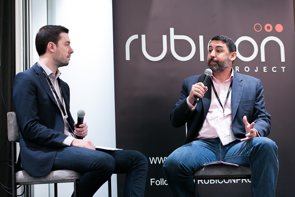 Rubicon Project's Chris Waterman opens the flood gates for InMobi CEO Jon White