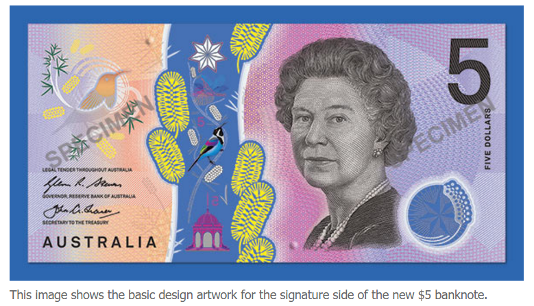 new $5 note