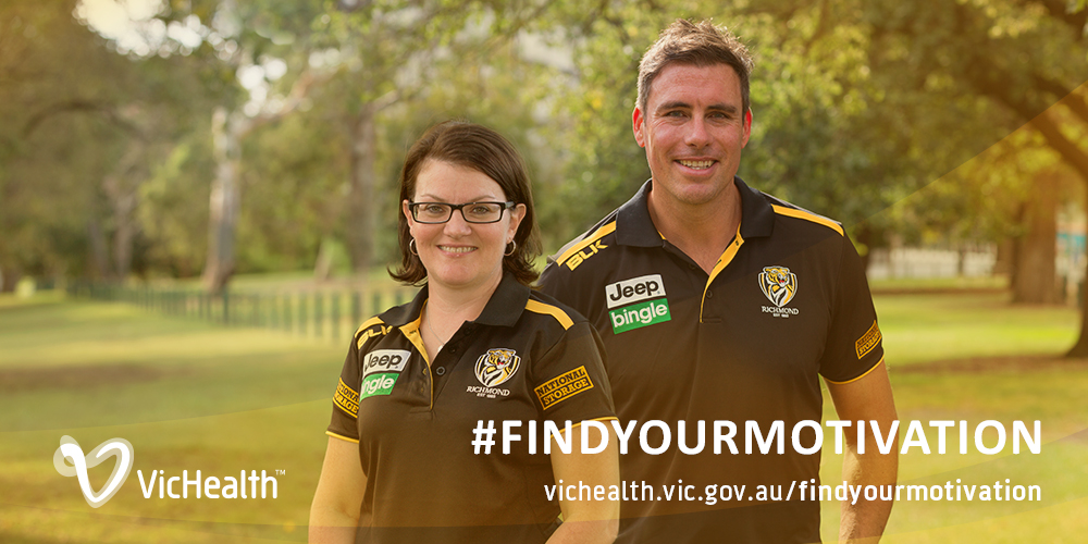 Richmond Football Club Partners With VicHealth To Promote