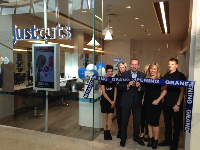 Just Cuts_Westfield Warringah Mall Grand Opening_Hon Tony Abbott MP_1