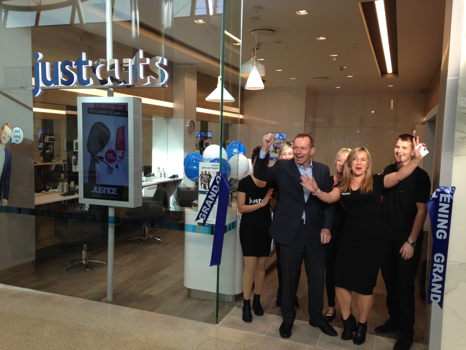 Just Cuts_Westfield Warringah Mall Grand Opening_Hon Tony Abbott MP_2