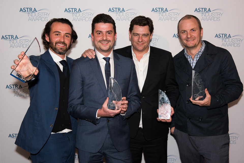 Fox Sports celebrate 4 wins at 2016 ASTRA Industry Awards