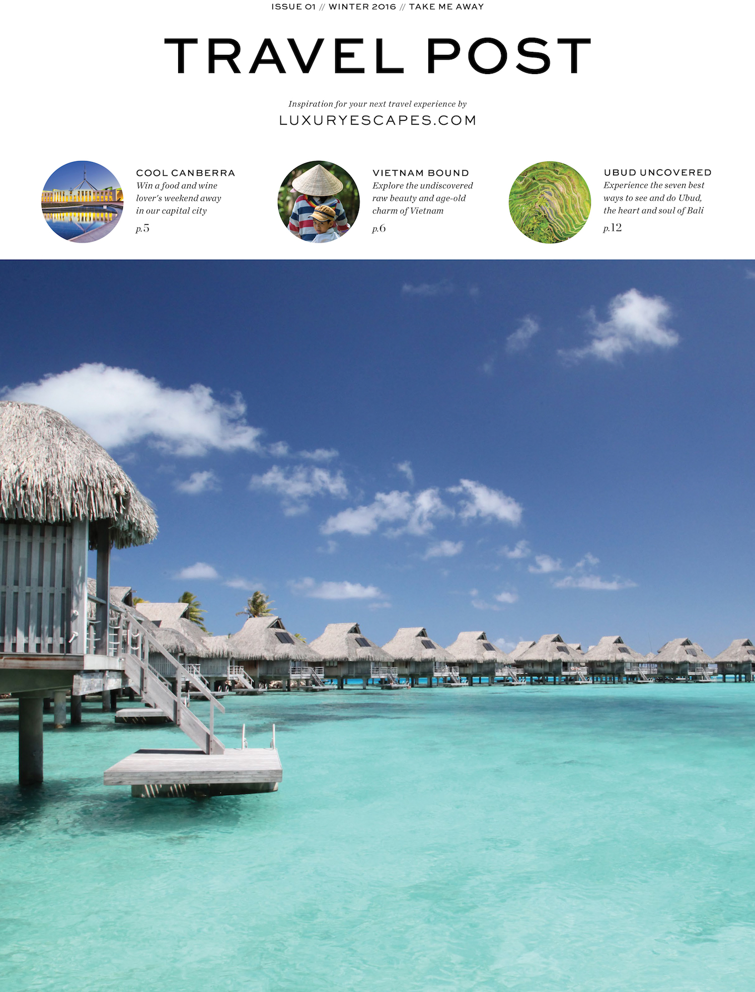 Travel Post cover luxury escapes