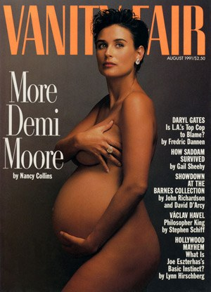 Vanity Fair Demi Moore