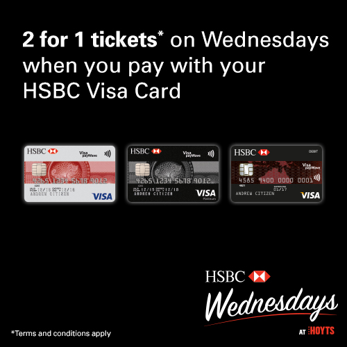 Hoyts and hsbc australia partner for hsbc wednesday at hoyts thecheapjerseys Gallery