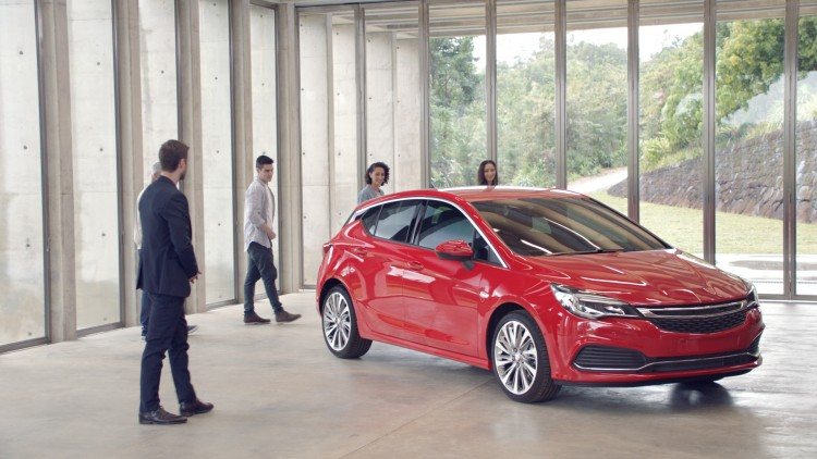 Holden Astra campaign (2016)