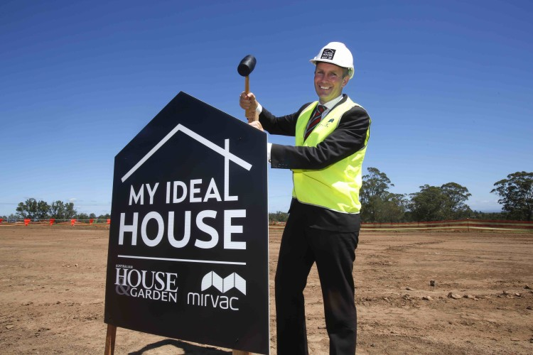 NSW Planning Minster Rob Stokes launching My Ideal House competition