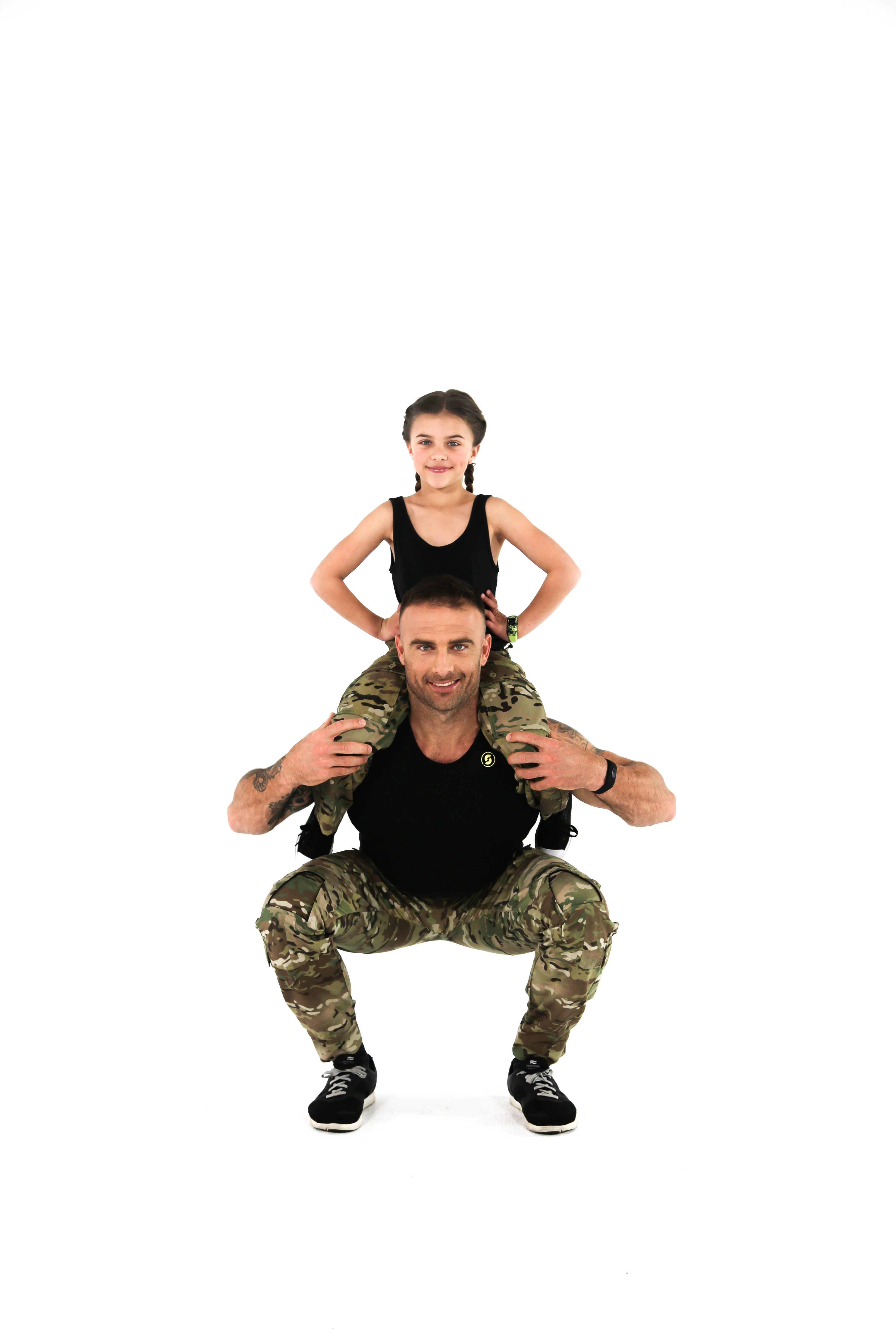 Commando Steve & Ella Willis vivofit jr GARMIN