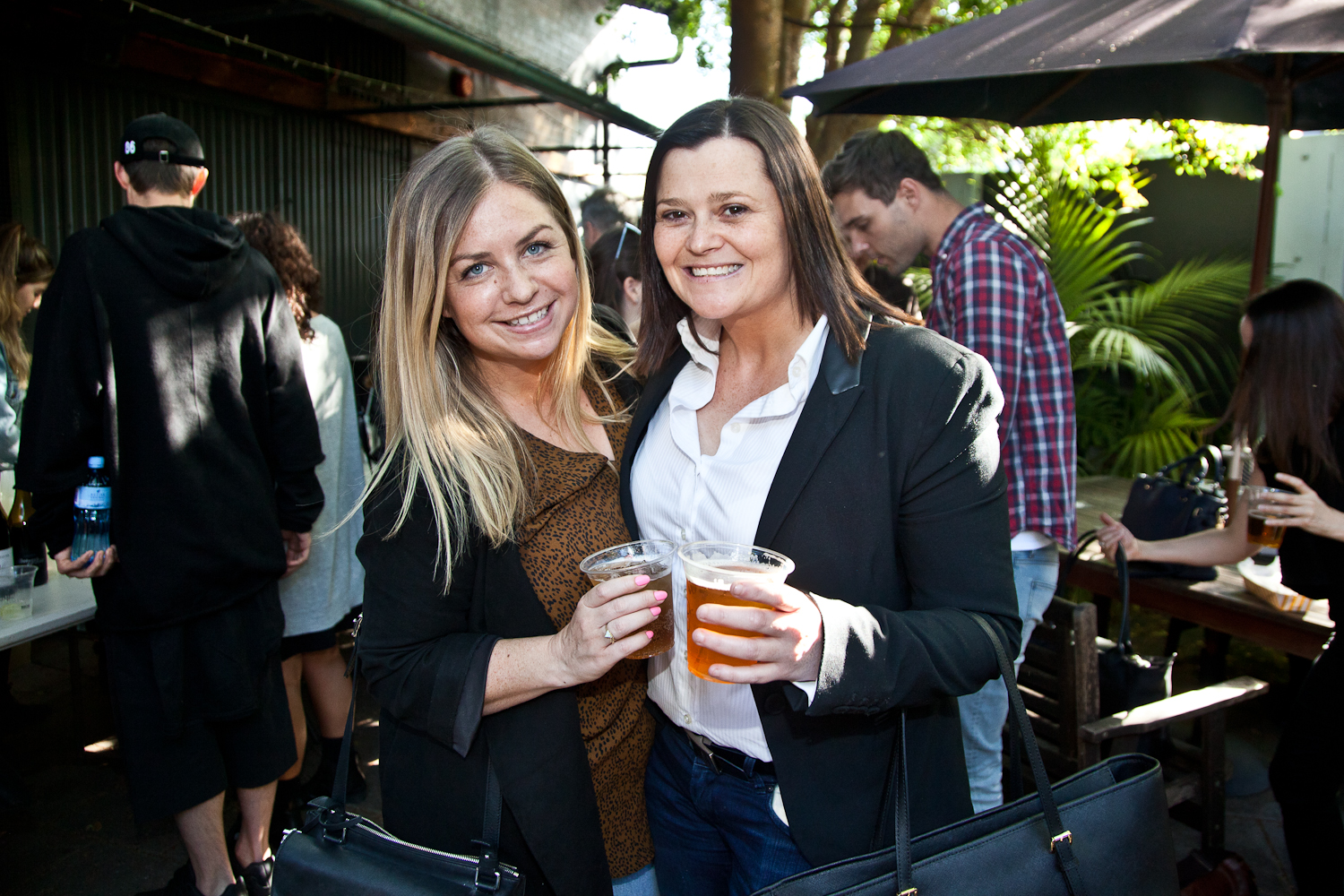 Fiona Roberts (Pandora) with Steph O Donnell from Match Media