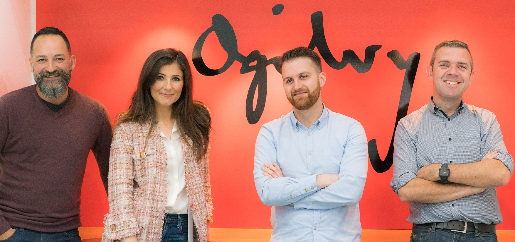 New Ogilvy Brisbane Management team LtoR: Nobay, Young, Pettit and Vine