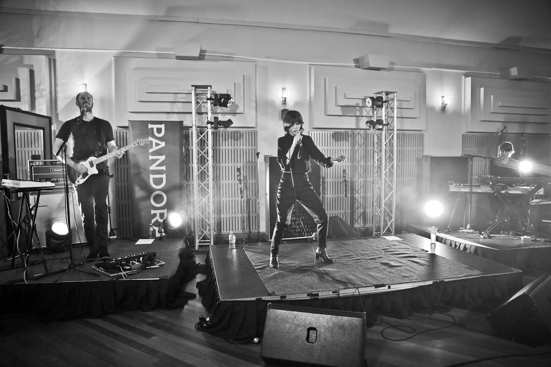 The Jezabels performing at Pandora Session