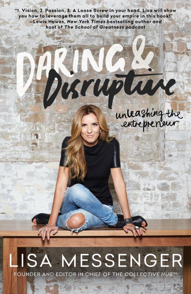 US Cover Lisa Messenger Daring Disruptive
