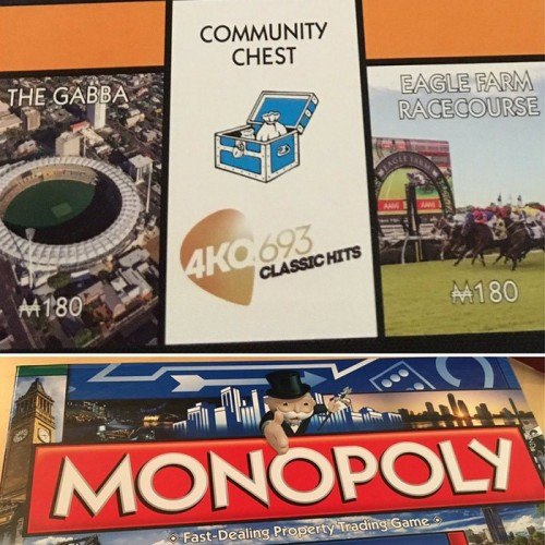 4KQ's space on Monopoly's Brisbane edition