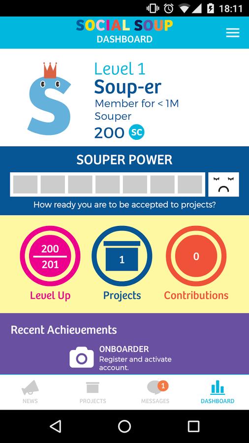 Social Soup App 1