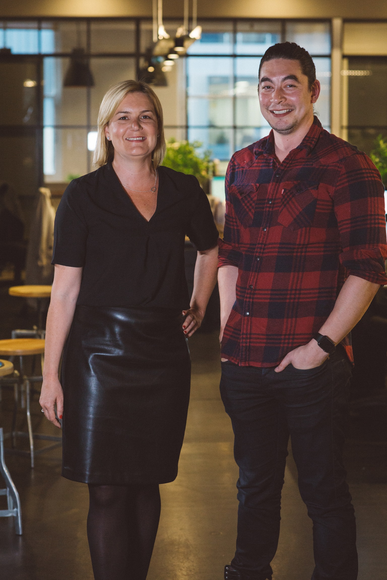 Eithne McSwiney, Managing Director. Ryan Chao, Digital Creative Director.